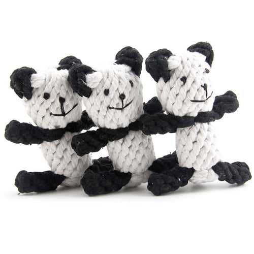 Bear Dog Toy - Rope Design