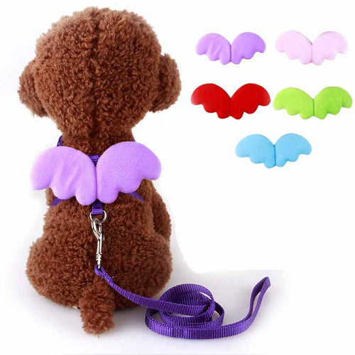 Angel Wings Dog Harness - Many colors, 3 sizes