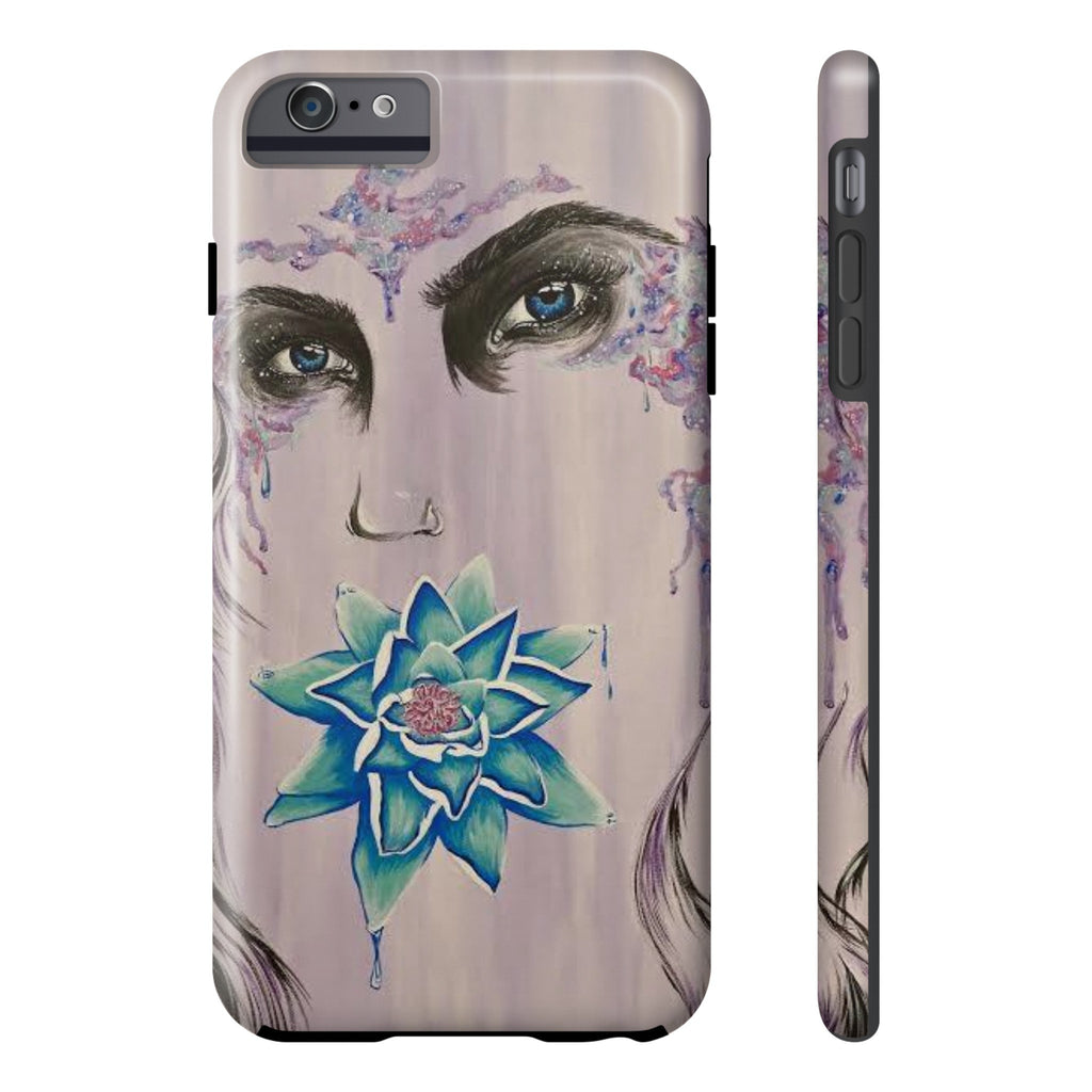 Lady of Light (by Freesia Castillo) Tough Casing Iphone 6/6s Plus case-Phone Case-Printify-Iphone 6/6s Plus Tough-gray/purple-Love My Husband Shop