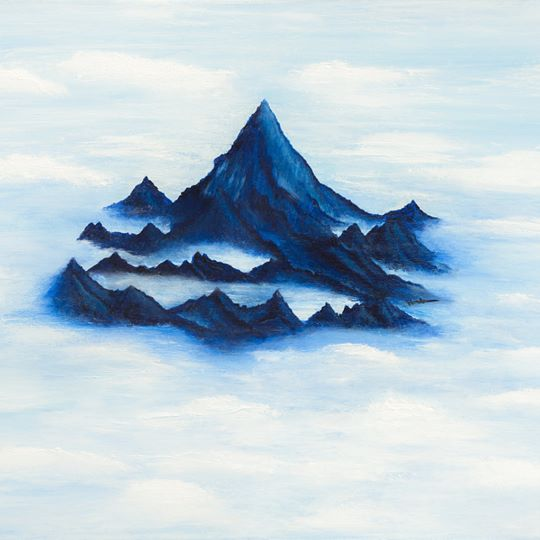 God's Mountain of Revelation-Canvas Art-Panoramic Art-Love My Husband Shop