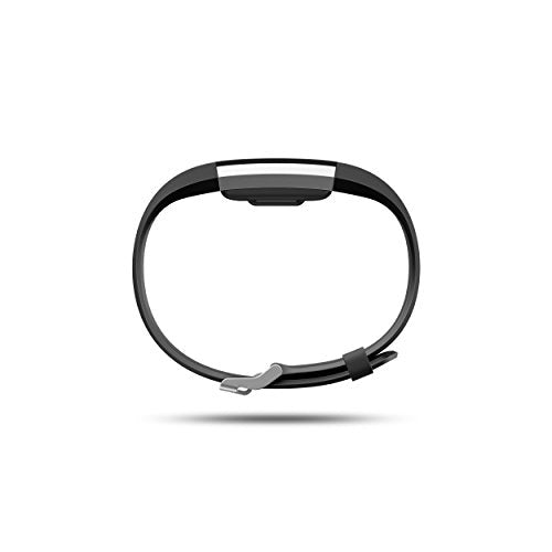 Fitbit Charge 2 Heart Rate + Fitness Wristband, Black, Small (US Version)-Fitness-Amazon-Love My Husband Shop