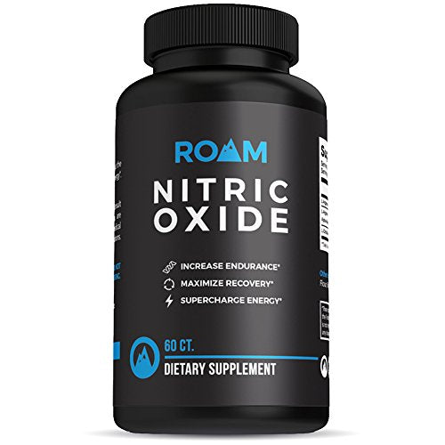 Roam Nitric Oxide L-Arginine supplement: L-Citrulline Malate Dietary Supplement Pills for Muscle Growth, Libido Enhancement, Fat Loss, Stamina and Energy Boost, and Heart Support - 60 Capsules-Love My Husband Shop-Love My Husband Shop