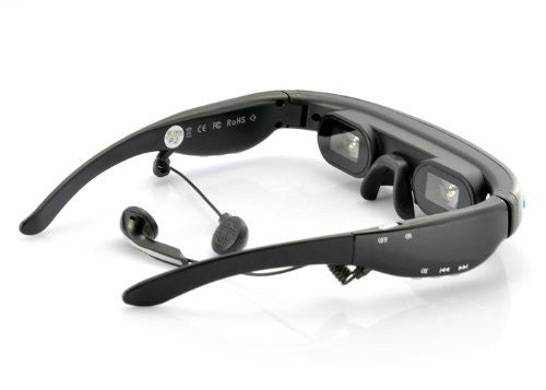 Mobile Theater Video Glasses with 52 Inch Virtual Screen-Gadgets-Amazon-Love My Husband Shop