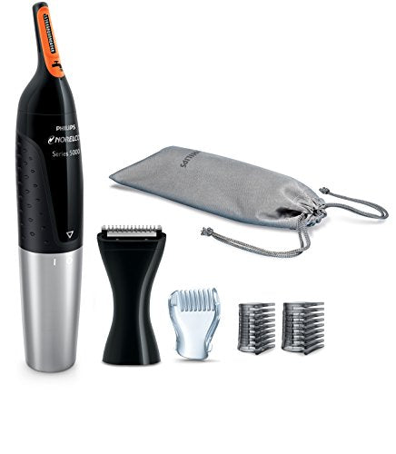Philips NT5175/49 Norelco Nose trimmer 5100 Facial Hair Precision Trimmer for Men-Gadgets-Amazon-Love My Husband Shop