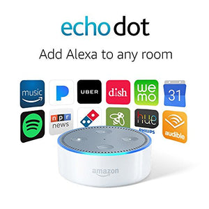 Echo Dot (2nd Generation) - White-Electronics-Amazon-Love My Husband Shop