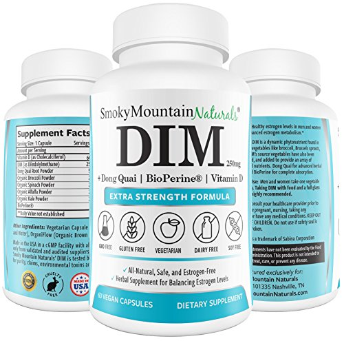 DIM Supplement 250mg Plus BioPerine
