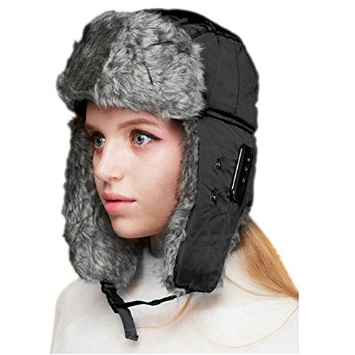 Mens Caps - Dolida Bluetooth Wireless Music Trooper Hat-Hat-Amazon-Love My Husband Shop