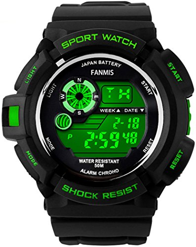 Fanmis S-Shock Multi Function Digital LED Quartz Watch-watch-Love My Husband Shop-Love My Husband Shop
