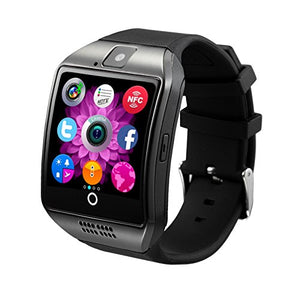 Antimi SmartWatch Sweatproof Smart Watch Phone for Android HTC Sony Samsung LG Google Pixel /Pixel and iPhone 5 5S 6 6 Plus 7 Smartphones Black-Love My Husband Shop-Love My Husband Shop