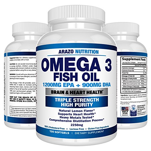 Omega 3 Fish Oil 2250mg