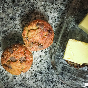 KNOW Foods Gluten Free Muffins, Low Carb, Amazing Taste, Keto + Paleo Friendly - 8 count (Frozen)-Health-Amazon-Love My Husband Shop