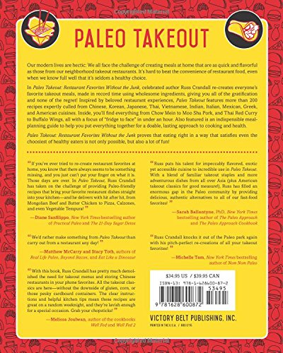 Paleo Takeout: Restaurant Favorites Without the Junk-Health-Amazon-Love My Husband Shop