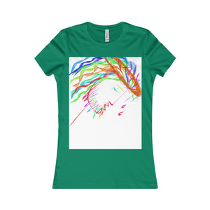 Women's Favorite Tee-T-Shirt-Printify-Kelly-S-Love My Husband Shop