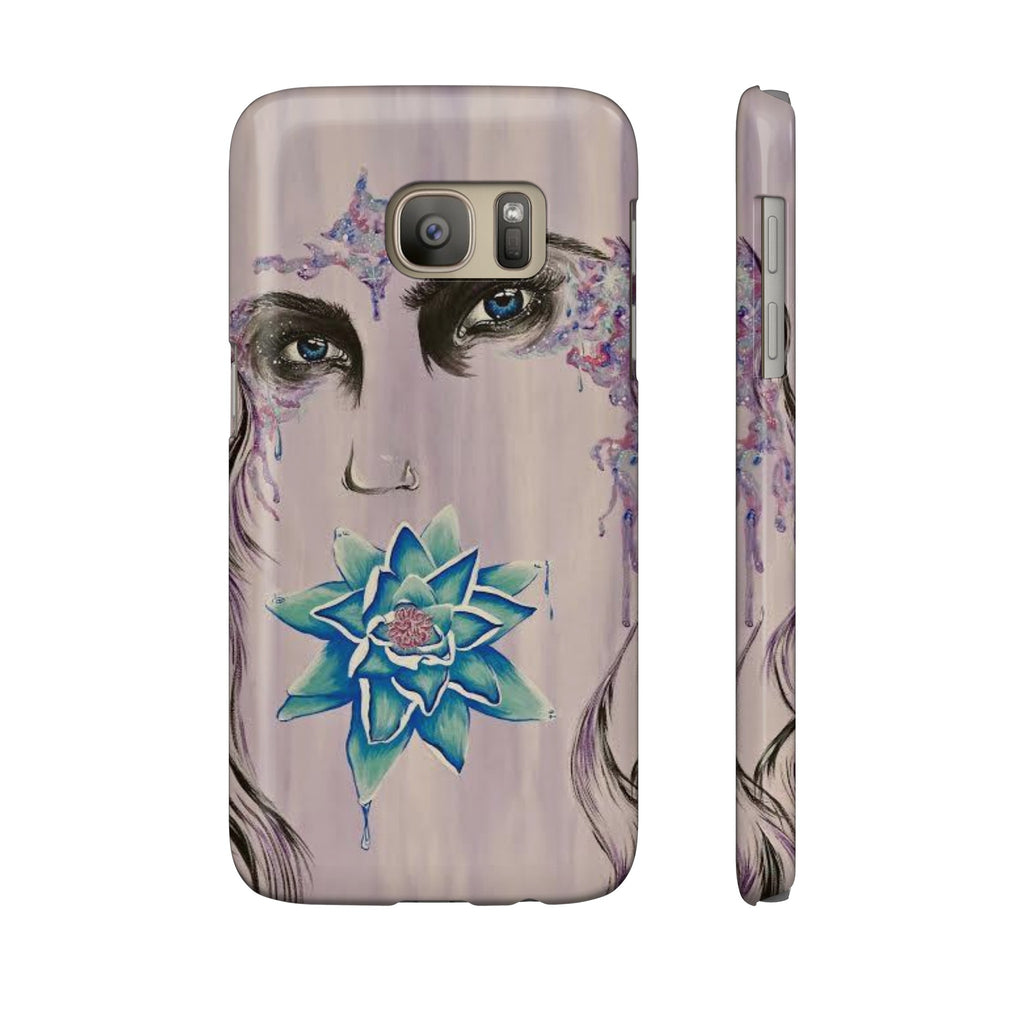 Lady of Light (by Fressia Castillo) for Slim Samsung Galaxy S7-Phone Case-Printify-Samsung Galaxy S7 Slim-Love My Husband Shop