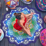 Tassel Indian Mandala Tapestry Yoga Mat