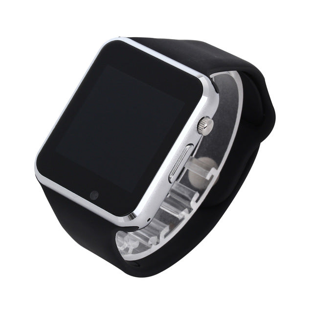 Smart Watch - Sport Pedometer With SIM Camera For Android Smartphone-watch-Love My Husband Shop-black with box-China-Love My Husband Shop