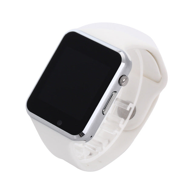 Smart Watch - Sport Pedometer With SIM Camera For Android Smartphone-watch-Love My Husband Shop-white with box-China-Love My Husband Shop