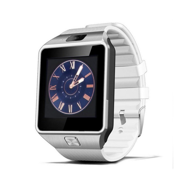 Smart Watch with Bluetooth & Camera Touch Screen-smart watch-Love My Husband Shop-White-Love My Husband Shop