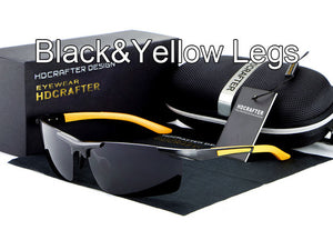 Night vision driving sun glasses-sunglasses-Men Fit Beyond 40-black yellow-Love My Husband Shop