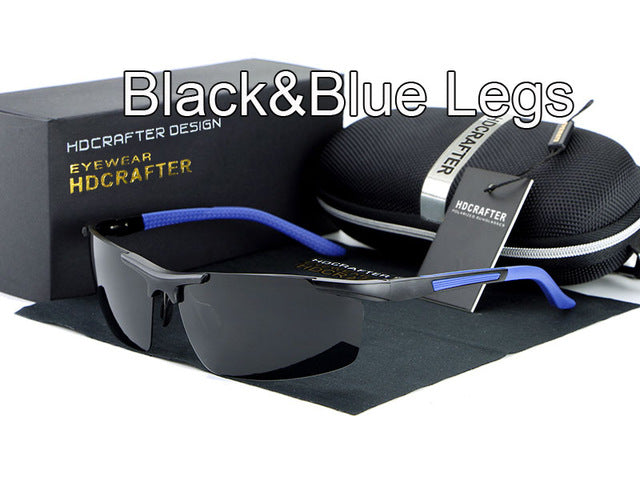 Night vision driving sun glasses-sunglasses-Men Fit Beyond 40-black blue-Love My Husband Shop