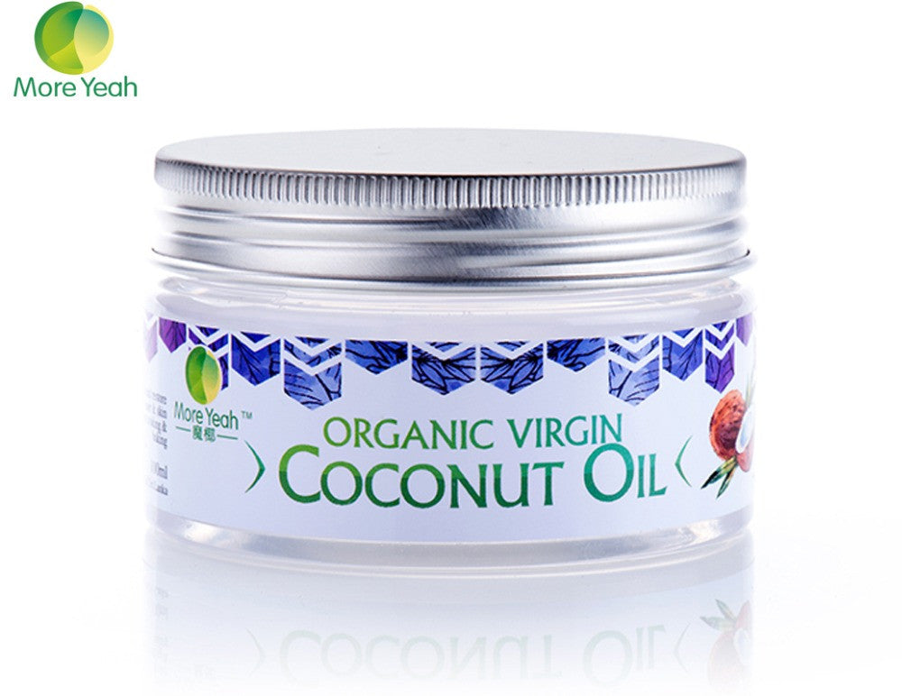 100ML VIRGIN Coconut Oil for Aromatherapy Hair & Skin Care /Makeup Remover/Body Massage-Health-Panoramic Art-Love My Husband Shop