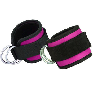 1 Pair Crossfit Ankle Cuffs-fitness-Love My Husband Shop-Pink-Love My Husband Shop