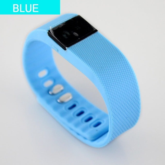 TW64 Fitness Tracker with Bluetooth Smartband-smart watch-Love My Husband Shop-Blue-Love My Husband Shop