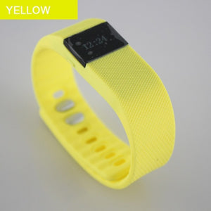 TW64 Fitness Tracker with Bluetooth Smartband-smart watch-Love My Husband Shop-Yellow-Love My Husband Shop