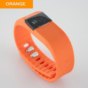 TW64 Fitness Tracker with Bluetooth Smartband-smart watch-Love My Husband Shop-Orange-Love My Husband Shop