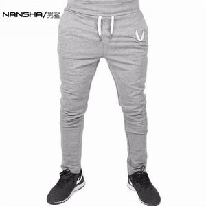High Quality Jogger Pants. Fitness Bodybuilding Gyms Pants For Runners.-Casual Pants-Love My Husband Shop-Gray-M-Love My Husband Shop