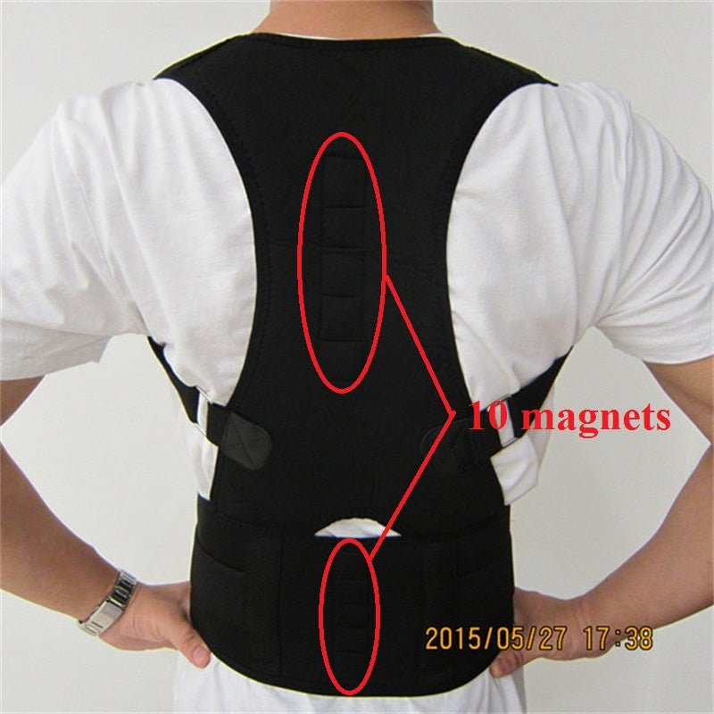 HEALTH CARE Men's Lumbar Support Belt Strap-back brace-Love My Husband Shop-Love My Husband Shop