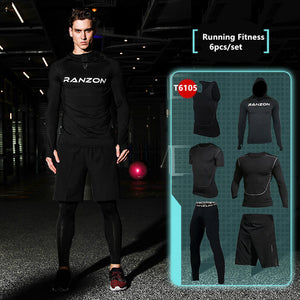 Compression Men's Sport Suits - Quick Dry Joggers Training Tracksuits-sportswear-Love My Husband Shop-13-S-Love My Husband Shop