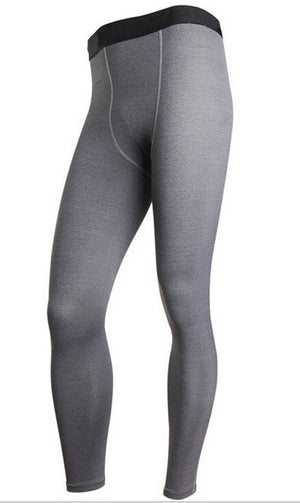 Men's compression pants; bodybuilding, jogger, exercise-compression pants-Love My Husband Shop-style 2015025-L-Love My Husband Shop