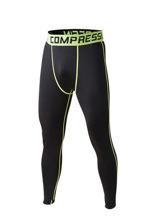 Men's compression pants; bodybuilding, jogger, exercise-compression pants-Love My Husband Shop-style 2015018-L-Love My Husband Shop