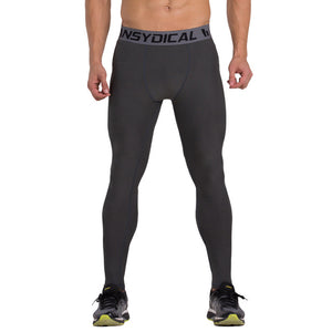 Men's compression pants; bodybuilding, jogger, exercise-compression pants-Love My Husband Shop-style 072-L-Love My Husband Shop