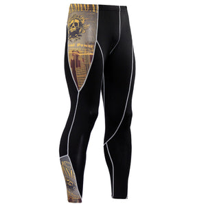 Men's Compression Pants - Skinny Leggings, Tight, Fitness Joggers, Elastic Bodybuilding Trousers-compression pants-Love My Husband Shop-KC65-S-Love My Husband Shop