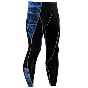 Men's Compression Pants - Skinny Leggings, Tight, Fitness Joggers, Elastic Bodybuilding Trousers-compression pants-Love My Husband Shop-KC67-S-Love My Husband Shop