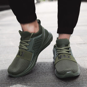Breathable Running Shoes For Men - Free Shipping-shoes-Love My Husband Shop-Army Green-7-Love My Husband Shop