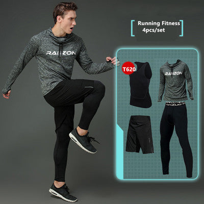 Compression Men's Sport Suits - Quick Dry Joggers Training Tracksuits-sportswear-Love My Husband Shop-10-S-Love My Husband Shop