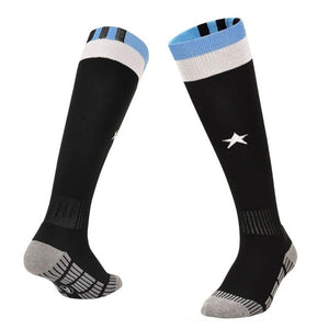 1 Pair Soft Cotton Breathable Compression Socks for Running.-socks-Love My Husband Shop-D-Love My Husband Shop