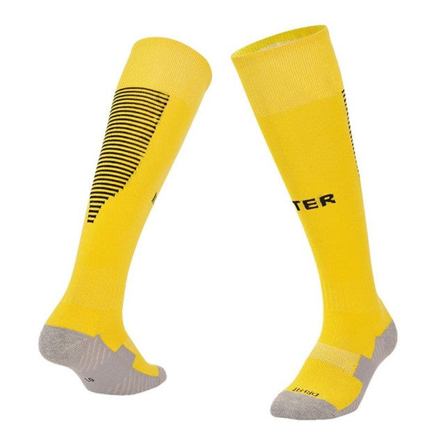 Men's Compression Athletic Running Socks-socks-Love My Husband Shop-Yellow-Love My Husband Shop