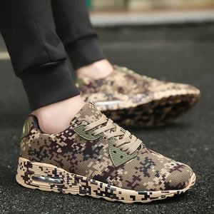 Joomra Running Shoes. Camouflage Breathable Trainer Shoes for men - Free Shipping-shoes-Love My Husband Shop-Love My Husband Shop