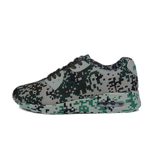 Joomra Running Shoes. Camouflage Breathable Trainer Shoes for men - Free Shipping-shoes-Love My Husband Shop-Green-4.5-Love My Husband Shop
