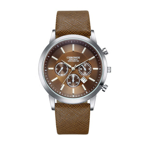 CHRONOS Men's Watch.-watch-Love My Husband Shop-Brown-China-Love My Husband Shop