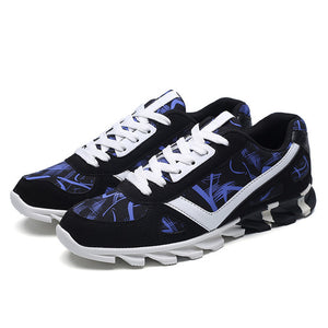 New Summer Men's Running Shoes.-shoes-Love My Husband Shop-blue f019-7.5-Love My Husband Shop