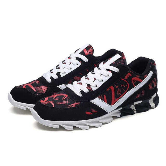 New Summer Men's Running Shoes.-shoes-Love My Husband Shop-red f019-7.5-Love My Husband Shop