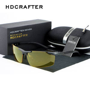 Night vision driving sun glasses-sunglasses-Men Fit Beyond 40-Love My Husband Shop