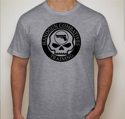 Handgun Combatives Large Logo Tee