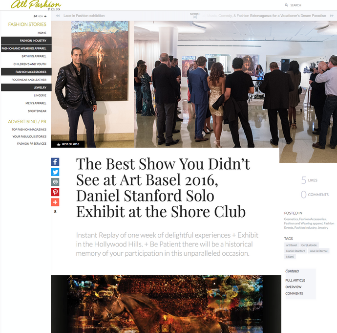 'the Best Show -You Didn't See at Art Basel 2016!'