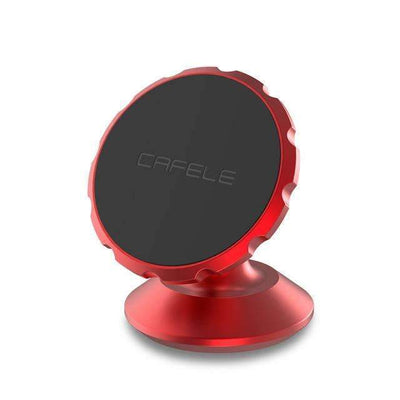 Ahmed China / Red Original Universal Magnetic Car Phone Holder 360 Degree Rotation